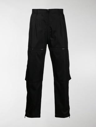Prada Zip Detailed Trousers