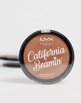 NYX California Beamin' Face And Body Bronzer - The OC