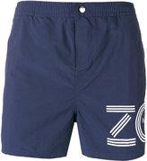 Kenzo logo print swim shorts - men - Nylon - S