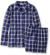 L.L. Bean Tartan Flannel Pajama Set