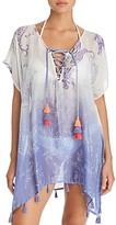 Thumbnail for your product : Surf.Gypsy Ombre Paisley Print Tunic Swim Cover-Up