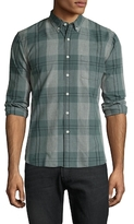 Life After Denim Cotton Beacon Checkered Slim Fit Sportshirt