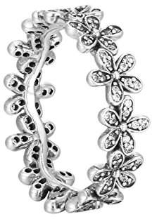 Pandora Women 9 k (925) Silver Zircon Rings