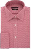 Sean John Men's Regular Fit Textured Solid French Cuff Dress Shirt
