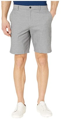 Calvin Klein Dobby Cotton Flex Stretch Shorts (Black Combo) Men's Shorts
