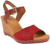Clarks Nubuck and Leather Wedges - Helio Jet