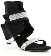 Onex Celebrity Rhinestone Ankle Strap Dress Sandals