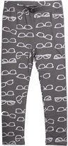 Imoga Jersey Leggings with Metallic Shades-Print, Gray, Size 8-14