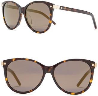 Marc Jacobs 57mm Cat Eye Sunglasses