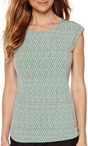 Liz Claiborne Sleeveless Knit Top