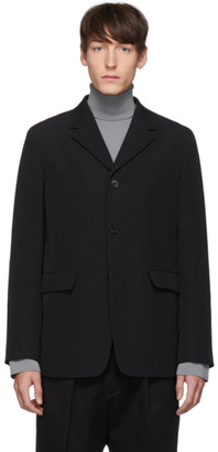 Jil Sander Black Wool Jacket