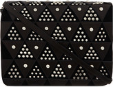 Jerome Dreyfuss Igor triangle stud leather bag
