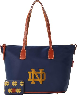 Dooney & Bourke NCAA Notre Dame Top Zip Tote