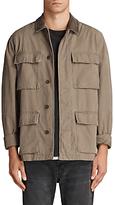 AllSaints Dyers Military Jacket, Khaki Green