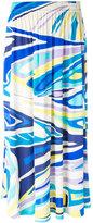 Emilio Pucci printed pleated skirt - women - Silk/Viscose - 42