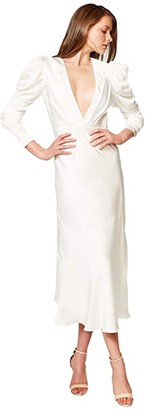 Bardot Zaria Midi Dress (Ivory) Women's Dress