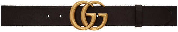 Black Gg Toscano Belt by Gucci