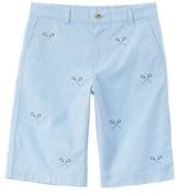Vineyard Vines Boys' Blue Embroidered Breaker Short.