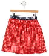 Petit Bateau Girls' Printed A-Line Skirt