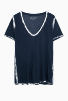 Zadig & Voltaire Tino Foil T Shirt