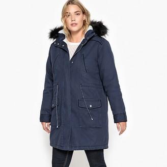 Castaluna Plus Size Faux Fur Hood Parka