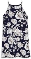 Aqua Girls' Sleeveless Floral Dress, Big Kid - 100% Exclusive