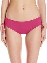 Anne Cole Women's Live in Color Alex Adjustable Side Tie Bikini Bottom