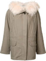 Yves Salomon Short Parka Coat
