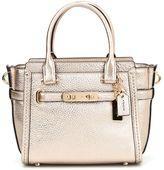 Coach Swagger 21 Pebble Leather Handbag
