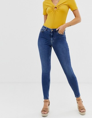 Pieces skinny jean in blue