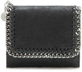 Stella McCartney Small Falabella Shaggy Deer Flap wallet