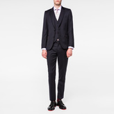 Paul Smith Men's Tailored-Fit Navy Three-Piece Wool Suit