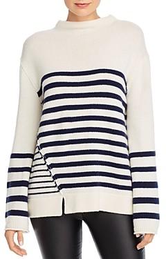 Brochu Walker Ida Striped Wool & Cashmere Sweater