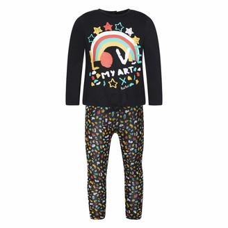 Tuc Tuc Girl's Camiseta+Leggings Punto Nina Clothing Set Black (Negro 30) 6 Years (Size: 6A)