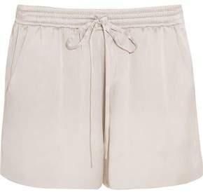 Chloé Silk-satin Shorts