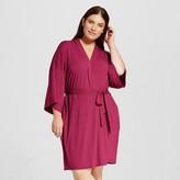 Gilligan & O Women's Robes - Gilligan & O'Malley - Elegant Cherry 1X