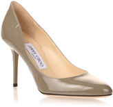 Jimmy Choo Gilbert grey patent pump