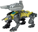 Power Rangers Movie Sabretooth Battle Zord with Yellow Ranger