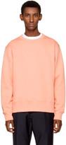 Acne Studios Pink Fairview Face Sweatshirt