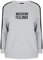 Yours Clothing YoursClothing Plus Size Womens Sweater Ladies Top Jumper Limited Collection
