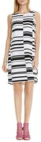 Vince Camuto Variegated Stripe Dress