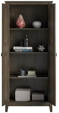 Berenice Storage Cabinet Laurel Foundry Modern Farmhouse Color: Weathered Oak