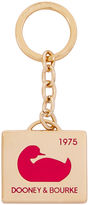Dooney & Bourke 1975 Duck Medallion Key Fob