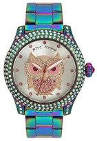 Betsey Johnson Oilslick Owl Watch