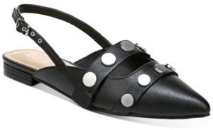 Bar III Josee Studded Slingback Mules, Created for Macy's Women's Shoes