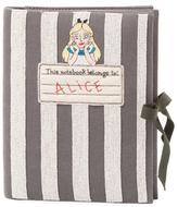 Olympia Le-Tan Alice Stripe Notebook Clutch