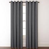 Asstd National Brand Harrison Grommet-Top Curtain Panel