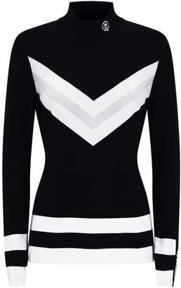 Sportalm Chevron Knit Sweater