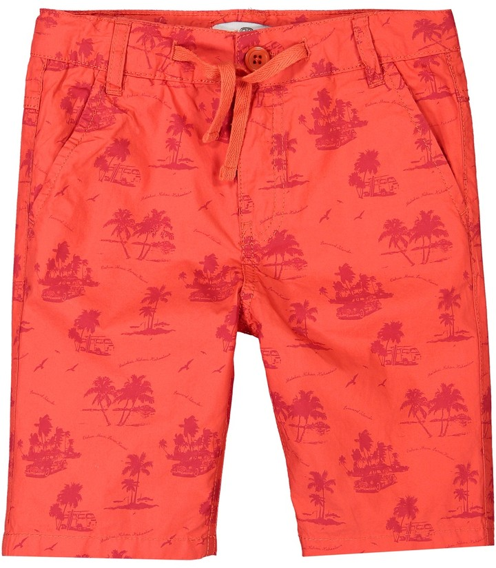 La Redoute Collections Big Boys Pack of 2 Printed Swim Shorts 3-12 Years