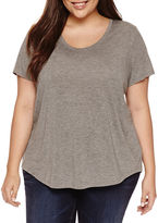 A.N.A a.n.a Short Sleeve Scoop Neck T-Shirt-Plus